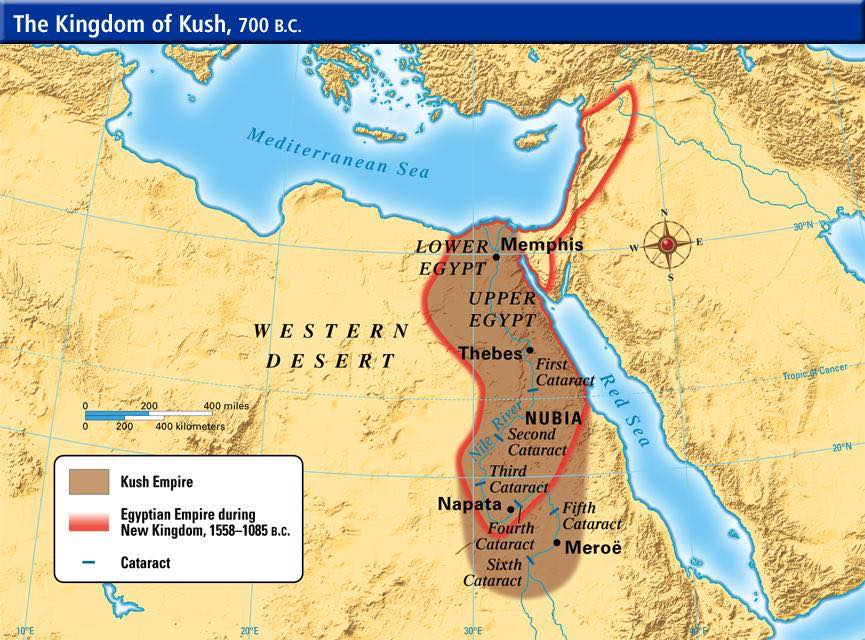 Ancient Egypt Series The New Kingdom ZD Boss - Map of egypt during the new kingdom